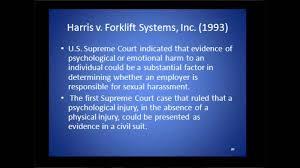 Harris v. Forklift Systems